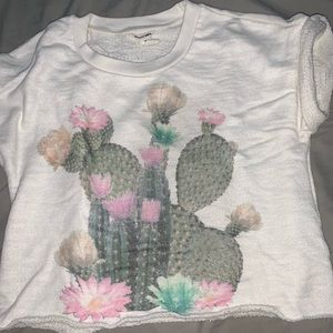 Cactus Crop Top